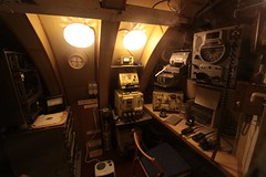 Radio and navigation equipment (Marcus Wong from Geelong) Tags: russia submarine saintpetersburg  sovietnavy sovietsubmarines189 project613b