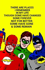 justice league vs beatles (worldofagwu) Tags: flash batman beatles dccomics greenlantern atom justiceleague justiceleagueofamerica jla mikesekowsky