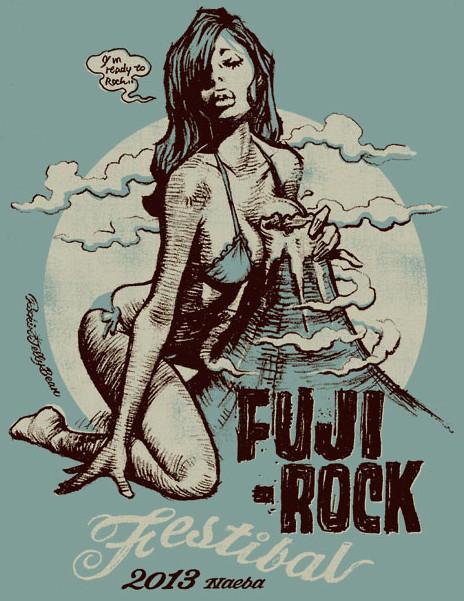 "Rockin'Jelly Bean × 富士搖滾音樂節 ""BIG FUJI BABY2013"""