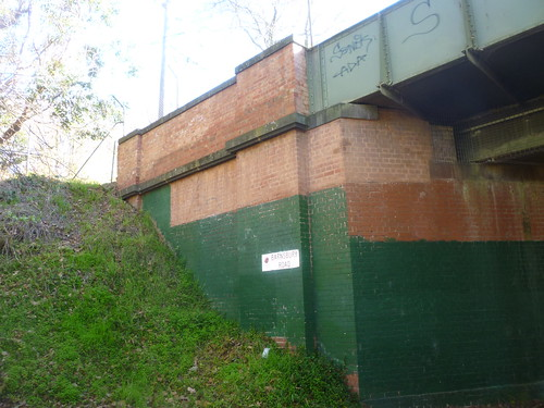 Outer Circle Railway - Barnsbury Road Bridge