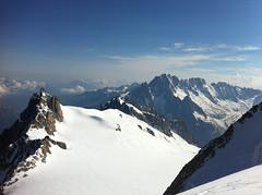 Vers le Mont-Blanc du Tacul (girolame) Tags: chamonix montblanc alpinisme mountainering