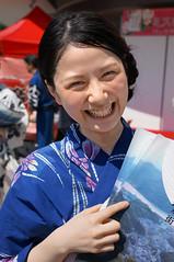 Ai-Yamada-Yukata-DSC04254 (HAMACHI!) Tags: summer portrait woman girl japan tokyo sony event yukata kimono f18 carlzeiss 32mm nex 2013 kinosakionsen missyukata nex5r touit1832 tourisimambassador