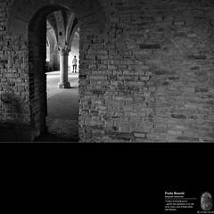 una colonna... (paolo.benetti) Tags: bw muro nikon italia porta siena arco architettura colonna sangalgano abazia d300s