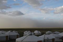 P1140408 (WhatsAllThisThen) Tags: camp desert mongolia sandstorm gobi ger haboob 3camellodge