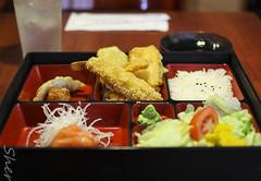 Shrimp Tempura Bento Box (sheryip) Tags: food sushi yum box sashimi shrimp delicious bento tempura morgantown ogawa