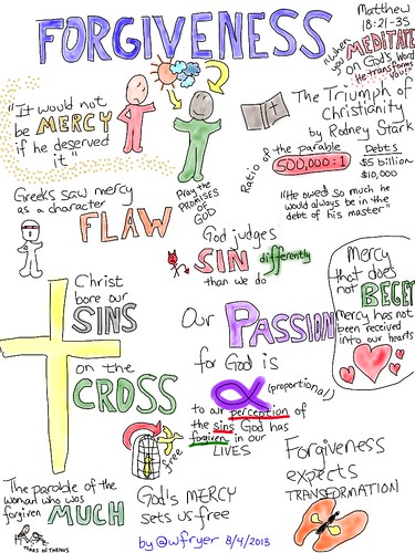 Forgiveness (Visual Notes) by Wesley Fryer, on Flickr