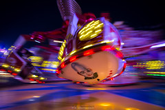Fun, fun, funfair... (bernd obervossbeck) Tags: carnival fun lights movement action swing bewegung funfair kirmes karussell lichter farben volksfest jahrmarkt crange crangerkirmes