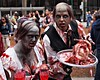 Zombie Walk 2013 (dons projects) Tags: city red blackandwhite canada vancouver pen scary blood downtown bc artgallery zoom august freaky olympus creepy gross gore photowalk horror undead bloody zombies olympuspen zuiko platter vancouverbc gorey severedhead m43 zd mft walkingdead fourthirds 40150mm zombiewalk 2013 bloodsoaked photoscape seeninvancouver epl1 microfourthirds μ43 mzuiko olympuspenepl1 m40150mm m40150 donsprojects zombiewalk2013