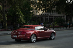 Second Best (JPA Photographs) Tags: red car pittsburgh engine fast continental convertible pa exotic ave colored british pitt luxury rare bentley mellon fifth w12 gtc