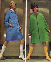 Spiegel 68 ss blue green (jsbuttons) Tags: blue green fashion vintage clothing mod 60s boots buttons spiegel womens clothes button catalog 1968 raincoat sixties catalogs fashions womans vintageclothing buttonfront
