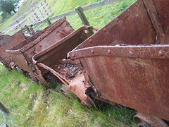 Old Mining Wagons (coolowb) Tags: train railway wanlockhead leadhills leadhillsandwanlockheadrailway hillendsummit