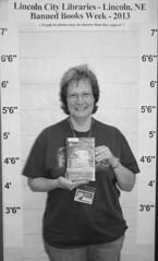 Banned Books Week 2013 - Charlotte K. (BookGuide at LCL) Tags: nebraska bbw lincoln bannedbooksweek 2013 bennettmartinpubliclibrary lincolncitylibraries