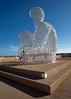 Nomade ~ Jaume Plensa, Antibes (Lady Haddon) Tags: sculpture france cotedazur letters antibes nomade 2013 juameplensa sep2013