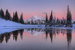Mount Rainier Winter Reflection (jeremyjonkman) Tags: