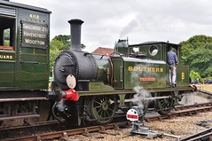 No 8 (lampcolector) Tags: steam isleofwight preserved isle wight freshwater no8 wooton havenstreet isleofwightsteamrailway smallbrookjunction a1x iwrly