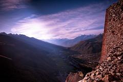 Il Crepuscolo degli Di (Demipoulpe) Tags: alpes italia dusk alpen montain sacradisanmichele crepuscolo piemont