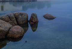 Rocks in a clear pool (charleshenrybeauchamp) Tags: africa sea pe rockpools townsouth