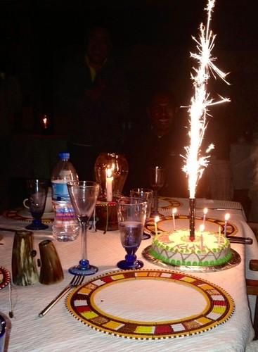 Nyumba birthday cake