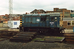 19910323 111 Tyneside Central Freight Depot. 08802 (15038) Tags: br diesel trains locomotive railways britishrail shunter class08 08802 060de tynesidecentralfreightdepot