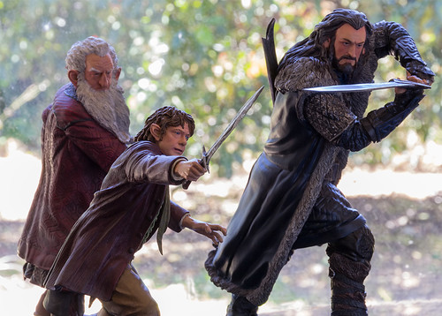 Hobbit Group-Bilbo Thorin Balin