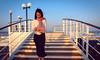 One early morning in the ship (~~Olivia ZZ~~) Tags: ocean woman girl sunrise see ship wind step oman muscat msc lirica 阿曼 马斯喀特