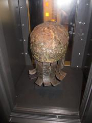 Viking helmet and neck guard