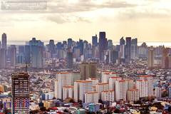 Makati-Mandaluyong (Christian Bederico) Tags: california city urban building skyline skyscraper garden square asia metro philippines manila makati sprawl mandaluyong skyscrapercity