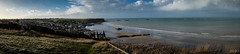 Arromanches (RVBO) Tags: mer fuji couleurs paysage panoramique x100s