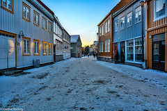 Trondheim (Fredrik meling) Tags: street old city houses winter norway norge canal nikon december january trondheim 2014 d7100