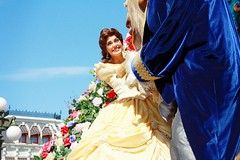 Festival of Fantasy ~ Belle and The Beast (seaprincesss) Tags: parade waltdisneyworld magickingdom disneyparks festivaloffantasy