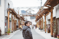 katsuyama/doll festival (Nazra Zahri) Tags: portrait man adam k japan asian japanese spring nikon raw 85mm husband nikkor okayama 2014 hinamatsuri katsuyama  85mmf18d dollfestival d700 vscofilm