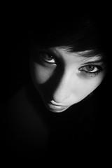 (Daniel Iván) Tags: portrait blackandwhite woman girl portraits blackwhite retrato highcontrast retratos blackwhitephotography blackwhitephoto blackwhitephotos mujerargentina solrezza argentinianwoman samsungnx1000