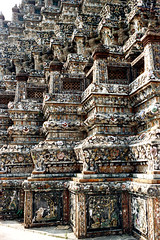19-286 (ndpa / s. lundeen, archivist) Tags: color detail building film architecture 35mm buildings thailand temple bangkok buddhist stonework details nick thai figure 1970s ornate 1972 figures 19 buddhisttemple watarun 1973 dewolf architecturaldetails templeofdawn nickdewolf photographbynickdewolf reel19