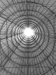 Abstract (GMorillo) Tags: light blackandwhite espaa blancoynegro luz architecture sevilla circles sur abstracto cartuja circulos