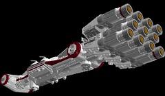 Tantive IV 1s=m: Belly (picardsbricks) Tags: starwars lego cr90 tantiveiv