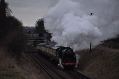 Gloomy Southern - GCR - 31/01/15 (82A Photography) Tags: winter train arthur track king br oliver mail wind leicester great north central january rail railway trains class steam southern minerals british standard sir manor gala woodhouse freight loughborough locomotives cromwell quorn britannia n15 gwr lms cutters gcr 1501 8f tpo 7820 lamiel