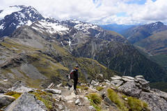 Avalanche Peak (aussietramper) Tags: new mountain nature hiking pass peak adventure zealand tramping arthurs avalanche