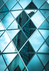 London Diamonds (DobingDesign) Tags: city shadow urban abstract building london glass architecture diamonds buildings reflections mono colours angles gherkin tone harlequin stmaryaxe glassarchitecture iconicbuildings corporaterealestate iconiclondon