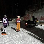Kimberley Night Slalom sled ride