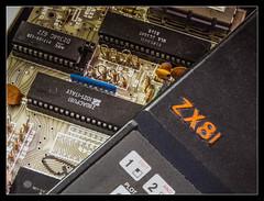 1 KB (MartyPG13) Tags: closeup ic board chips retro electronics computing chip fujifilm resistor capacitor pcb circuit sinclair zx81 hs50