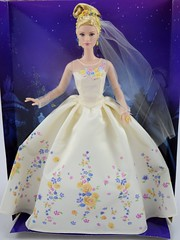 Wedding Day Cinderella Doll by Mattel - Disney Cinderella Live Action Film - Deboxing - Attached to Backing - Full Front View #2 (drj1828) Tags: wedding bride us amazon doll princess disney cinderella weddingday purchase mattel 2015 deboxing 11inch productinformation liveactionfilm