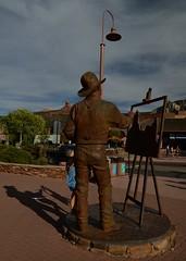 DSC_8430 (Copy) (pandjt) Tags: arizona sculpture statue unitedstates sedona publicart clydemorgan