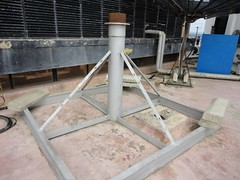 KingPost Series 1383 (Kitmondo.com) Tags: colour industry work square stand photo support industrial factory technology tech squares satellite working machine structure pole communication equipment machinery frame labour kit electronic communicate equip