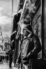 Smoking is SeXy... (Anne J Gibson) Tags: street toronto streetphotography streetportrait kensingtonmarket cigarettesmoke annejgibson torontoontariotorontocanada