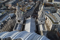 St. Paul's Cathedral from the Golden Gallery (CoasterMadMatt) Tags: city uk greatbritain winter england building london english saint st skyline architecture buildings photography golden nikon worship gallery view cathedral photos unitedkingdom britain south united great january stpauls structures kingdom structure christian east photographs views gb borough british christianity southeast stpaulscathedral viewpoint iconic saintpaulscathedral anglican cityoflondon saintpauls londonskyline nikond3200 2015 viewsfrom londonlandmarks londonlandmark goldengallery d3200 iconicbuildings viewfromstpaulscathedral coastermadmatt london2015 january2015 coastermadmattphotography