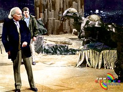 Doctor Who - The Web Planet (Colourised) (jmwcolouranddesign) Tags: color colour classic television photo tv time who space archive doctor colorized doctorwho scifi drwho tardis sixties colorize colorization colourised colourisation colourise hartnell zarbi