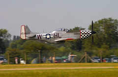 North American P-51 Mustang (Varcs) Tags: world two flying war low mustang usaf p51 riat