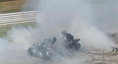 dancing motorcycles (troy.jackman) Tags: world show italy bike monster nikon italia motorcycles rimini moto motorcycle week burnout ducati stunt evo wheelie duc 2014 hypermotard d7100 diavel