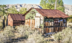 GoodSprings Nevada (Darrell Craig Harris - Instagram: GettyContributor) Tags: old west buildings landscape town nevada mining ghosttown dslr hdr anamazingshot flickraward 5dmk2