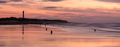 Covesea Panoramic (Andrew Paul Watson) Tags: sunset seagulls lighthouse beach reflections scotland long exposure pano scottish panoramic filter fujifilm moray manfrotto firth lossiemouth westbeach andrewwatson xt1 nisifilters andrewpaulwatson